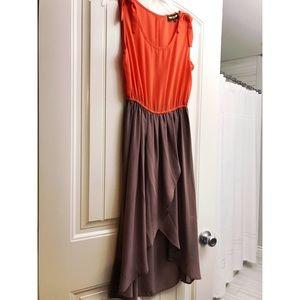 High-low flirty dress